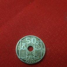Monedas Franco: ANTIGUA MONEDA 50 CENTIMOS 1949 *56. Lote 244779455