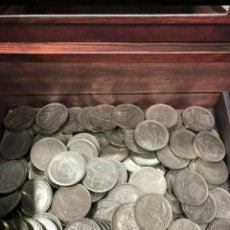 Monedas Franco: LOTE DE 50 PESETAS 1957. Lote 244934995