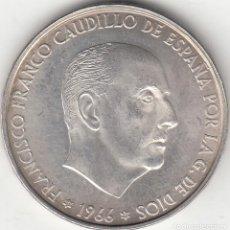 Monedas Franco: ESTADO ESPAÑOL: 100 PESETAS 1966 ESTRELLAS 19 - 66 / PLATA - 19 GR.. Lote 244967890
