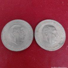 Monedas Franco: ESTADO ESPAÑOL : LOTE 5 PESETAS 1949 ( ESTRELLAS 49 Y 50 ) BONITAS. Lote 245394385