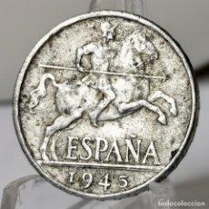 Monedas Franco: ⚜️AB428. 10 CÉNTIMOS 1945. Lote 245770160