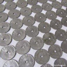 Monedas Franco: 65 MONEDAS DE 25 CÉNTIMOS 1937. Lote 245986330