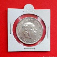 Monedas Franco: MONEDA DE 5 PESETAS 1949 *19*49 ESTADO ESPAÑOL NIQUEL 900 MILESIMAS 32MM DIAMETRO PESO 15GRS. Lote 246009265