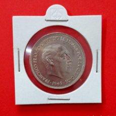 Monedas Franco: MONEDA DE 5 PESETAS 1949 *19*49 ESTADO ESPAÑOL NIQUEL 900 MILESIMAS 32MM DIAMETRO PESO 15GRS. Lote 246009685