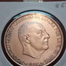 Monedas Franco: MONEDA 100 PTAS 1966 *67 -PLATA. Lote 246011200