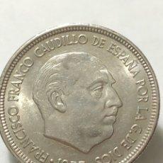 Monedas Franco: PRECIOSA MONEDA DE 5 PESETAS DE 1957 CON ESTRELLA DEL 69 SIN CIRCULAR. Lote 246015675
