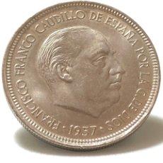 Monedas Franco: 5 PESETAS 1957 ESTRELLA DEL 72 , SIN CIRCULAR,ACUÑACIÓN PERFECTA.. Lote 246094150
