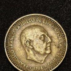 Monedas Franco: 1 PESETA 1966 ESTRELLA 69 *. Lote 246280610