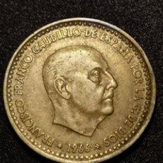 Monedas Franco: 1 PESETA 1966 ESTRELLA 70 *. Lote 246281495