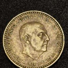 Monedas Franco: 1 PESETA 1966 ESTRELLA 74 *. Lote 246282495