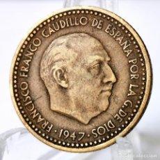 Moedas Franco: ⚜️ 1 PESETA 1947 *53. PLUS. AHORA TAMBIÉN ACEPTAMOS ENVÍO ORDINARIO. AB483. Lote 246303175