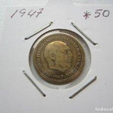 Monedas Franco: MONEDA DE 1 PESETA DE 1947*19-50 FRANCO (ESTADO ESPAÑOL) RARA. Lote 247770600