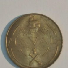 Monedas Franco: 1 PESETA NAVAL, F. FRANCO 1948, MUY RARA, AUTENTICIDAD GARANTIZADA.. Lote 248006415