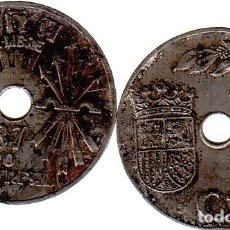 Monedas Franco: FRANCO. 25 CÉNTIMOS 1937, II AÑO TRIUNFAL.. Lote 289020568