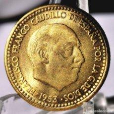 Monedas Franco: ⚜️ B2240. SIN CIRCULAR. 1 PESETA 1953 *56. AB730. Lote 248739125