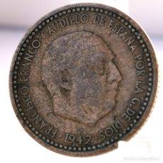 Monete Franco: ⚜️ 1 PESETA 1947 *51. AB734. Lote 248739655