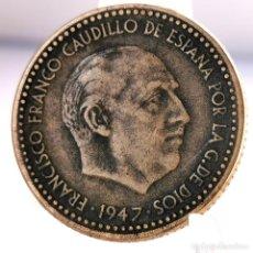Monete Franco: ⚜️ 1 PESETA 1947 *51. AB735. Lote 248739705