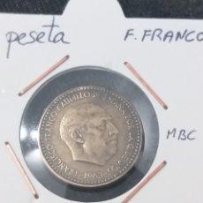 Monedas Franco: 1 PTA. 1963 * 67, ESTADO ESPAÑOL. Lote 249372025