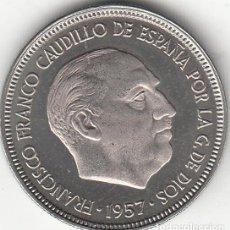 Monedas Franco: ESTADO ESPAÑOL: 5 PESETAS 1957 ESTRELLA 75 FDC - PROCEDENTE DE CARTERA. Lote 249452175