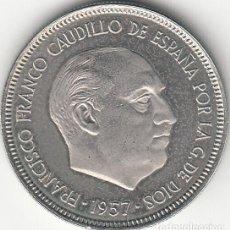 Monedas Franco: ESTADO ESPAÑOL: 5 PESETAS 1957 ESTRELLA 74 FDC - PROCEDENTE DE CARTERA. Lote 249452645
