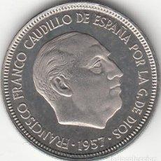 Monedas Franco: ESTADO ESPAÑOL: 5 PESETAS 1957 ESTRELLA 72 FDC - PROCEDENTE DE CARTERA. Lote 249454615
