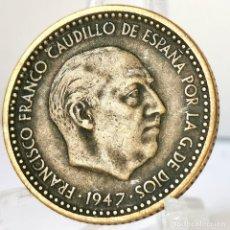 Monete Franco: ⚜️ 1 PESETA 1947 *51. AB897. Lote 251404205