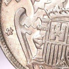 Monedas Franco: ⚜️ 25 PESETAS 1957 *72. MBC+ / EBC-. ERROR DOS PLUMAS ALA IZQUIERDA. AC015. Lote 252228150
