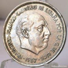 Monedas Franco: ⚜️ 25 PESETAS 1957 *71. AB991. Lote 252232230