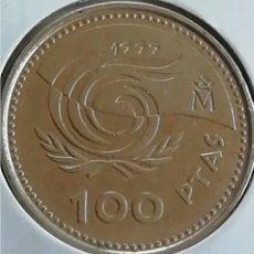 Monedas Franco: CIEN PESETAS DE 1999. MUY BIEN CONSERVADO. ADJUNTO PEDIDOS. ACEPTO OFERTAS.. Lote 242995400