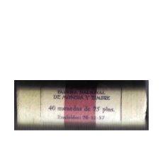 Monedas Franco: CARTUCHO 40 MONEDAS DE 25 PESETAS FRANCO, AÑO 1957 ESTRELLA 65 -ORIGINAL FNMT-SIN CIRCULAR. Lote 252431580