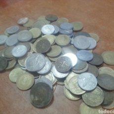 Monedas Franco: LOTE MONEDAS FRANCO O,50-1-5-25 PTAS. Lote 252795375