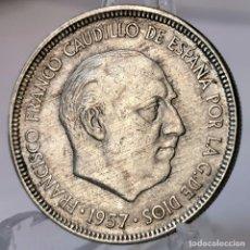 Monedas Franco: ⚜️ 5 PESETAS 1957 *63. AC084. Lote 252993090