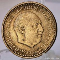 Monedas Franco: ⚜️ 1 PESETA 1953 *61. AC077. Lote 252994680