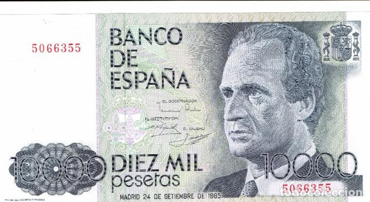 Monedas Franco: DIEZ MIL PESETAS, JUAN CARLOS I - Foto 2 - 253139020