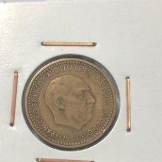 Monedas Franco: MONEDA DE 1 PESETA DE 1953 CON ESTRELLA DEL 62. Lote 253158230