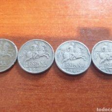 Monedas Franco: LOTE 4 MONEDAS DIEZ CÉNTIMOS 1940 1941 1945 1953. Lote 253615880