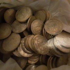 Franco Coins: LOTE DE 60 MONEDAS DE 100 PESETAS DE PLATA DE 1966. FRANCISCO FRANCO. Lote 30445067