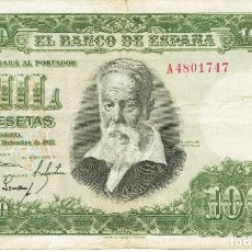 Monedas Franco: 1000 MIL PESETAS MADRID 31 DE DICIEMBRE DE 1951. Lote 253672945
