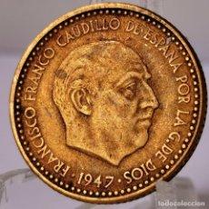 Monnaies Franco: ⚜️ 1 PESETA 1947 *51. AC150. Lote 253715260