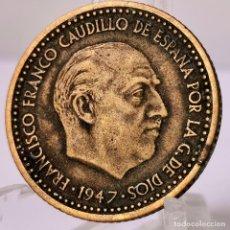 Monnaies Franco: ⚜️ 1 PESETA 1947 *51. AC148. Lote 253715425