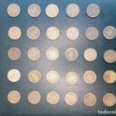 Monedas Franco: LOTE 29 MONEDAS 1 PESETA 1944. Lote 253953055