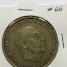 Monedas Franco: 100 PESETAS 1966 *66 PLATA. Lote 253960860