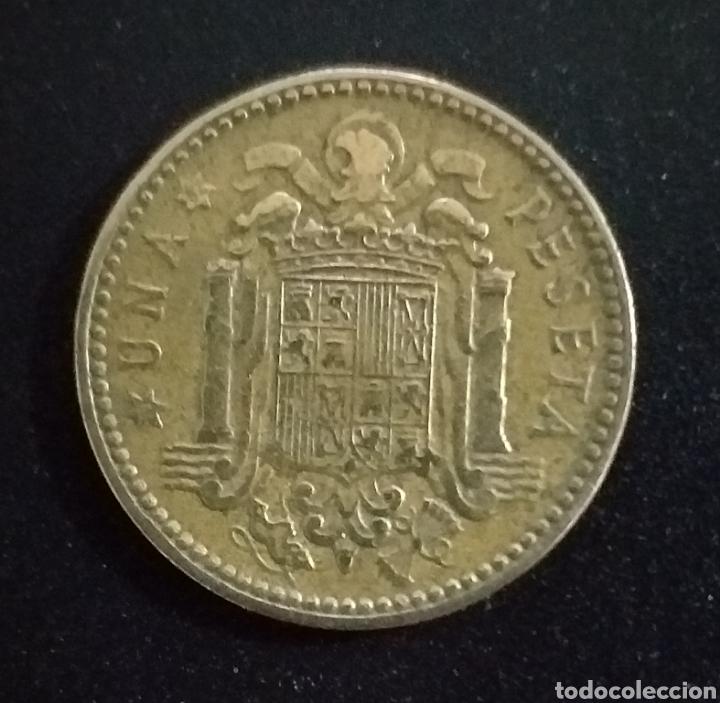 Monedas Franco: Moneda de 1 peseta 1953 Estreñña 62 - Foto 2 - 254451860