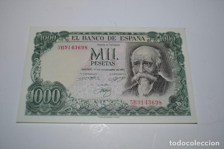 Monedas Franco: billete de 1000 pesetas de echegaray - Foto 1 - 254458825