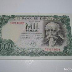 Monedas Franco: BILLETE DE 1000 PESETAS DE ECHEGARAY. Lote 254458825
