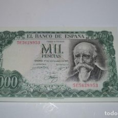 Monedas Franco: BILLETE DE 1000 PESETAS DE ECHEGARAY. Lote 254458910