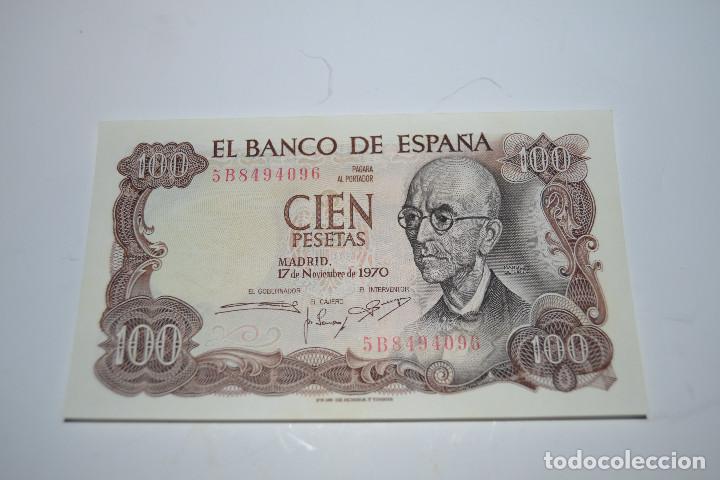 BILLETE DE 100 PESETAS DE MANUEL DE FALLA (Numismática - España Modernas y Contemporáneas - Estado Español)