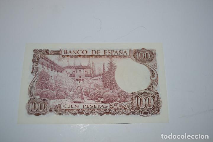 Monedas Franco: BILLETE DE 100 PESETAS DE MANUEL DE FALLA - Foto 2 - 254459165