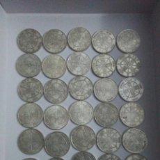 Monedas Franco: LOTE 31 MONEDAS, 1966,FRANCISCO FRANCO,PLATA,ESTRELLAS 66-67-68-70. Lote 254634965