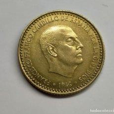 Monedas Franco: FRANCO. 1 PTA. 1966 *72. EXCESO DE METAL EN LAS ALAS.. Lote 254648200